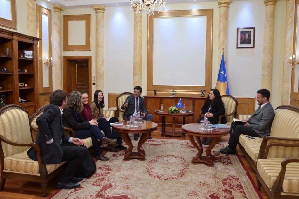Takimi me krye-parlamentaren Vjosa Osmani